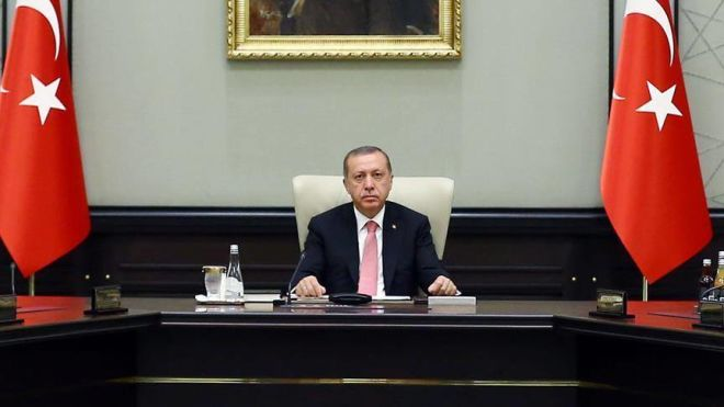 Erdogan holds meeting: Turkish army in Azerbaijan