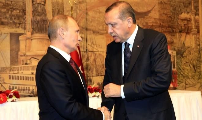 Telephone conversation took place between Erdogan and Putin