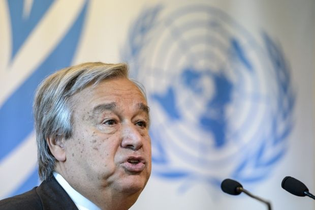 UN chief urges action to end Syria conflict, support rights