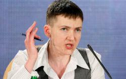 Savçenko Kiyevin Donbasla bağlı səhvini açıqladı
