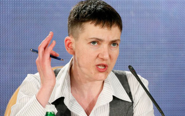 Savchenko to Zelensky: Don't let them deceive you