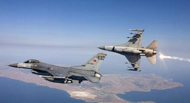 Turkish fighter jets hit PKK -