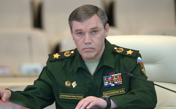 Gerasimov called the Turkish general