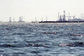 Уровень воды в Каспийском море понизился