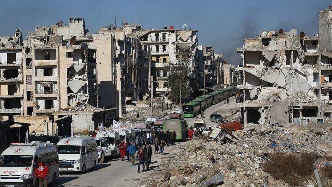 اسد اوردوسو سئس-ی آزاد ائتدی: حلبه ایشیق وئریلدی