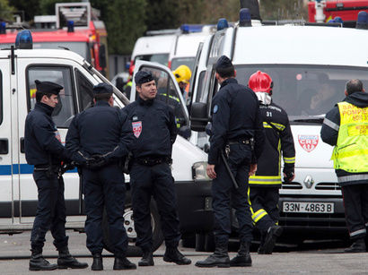 В Страсбурге стреляют
