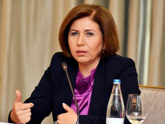 Bahar Muradova cəbhə bölgəsində