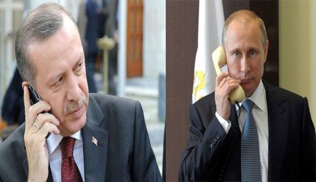 Turkish, Russian leaders to discuss Syria over phone