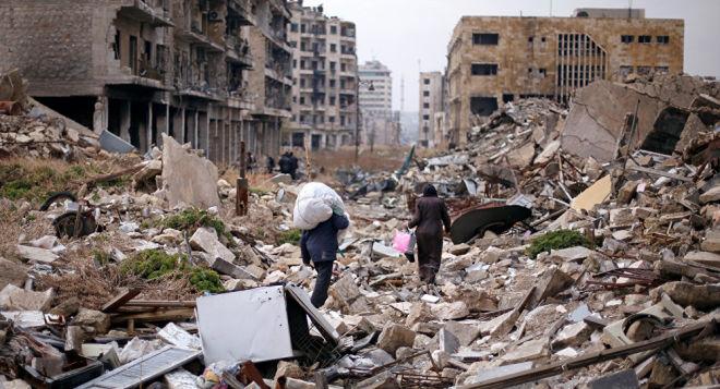 В Алеппо произошло несколько взрывов