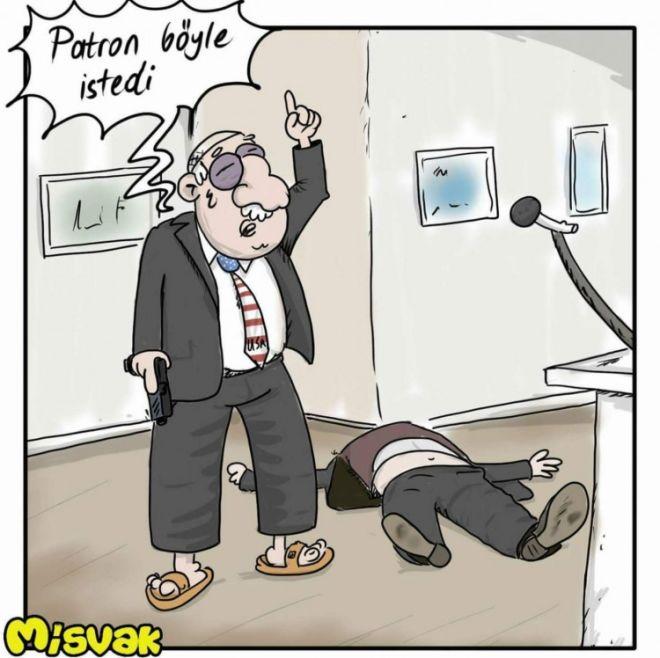 Patron belə istədi - Günün karikaturası