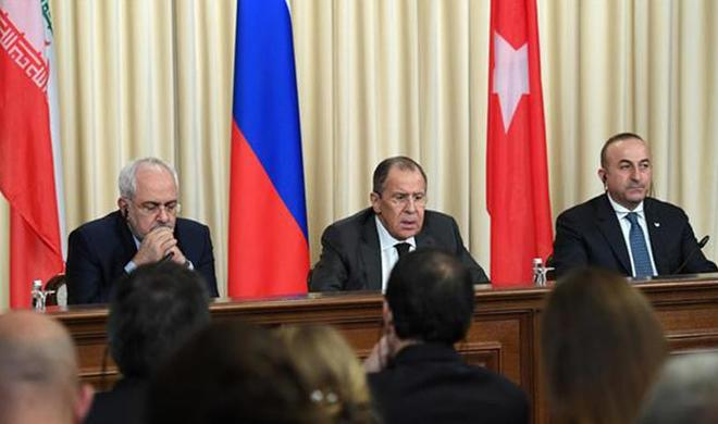 Iranian, Russian, Turkish FMs meet in Antalya