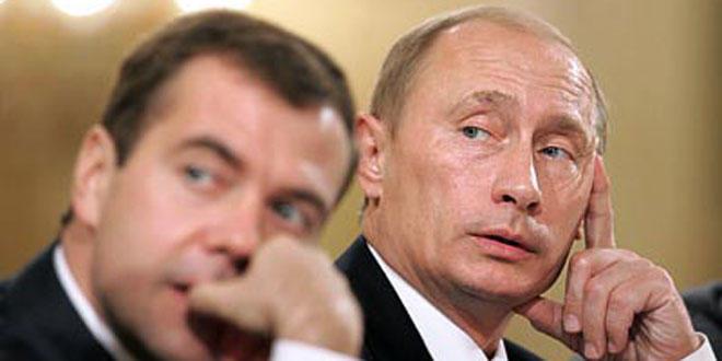 Путин рассказал об отношениях с Медведевым