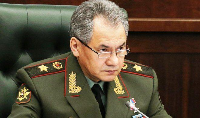 Sergei Shoigu called Harutyunyan