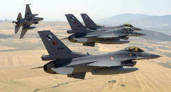 Türk qırıcıları İraqı bombaladı: 8 hədəf məhv edildi