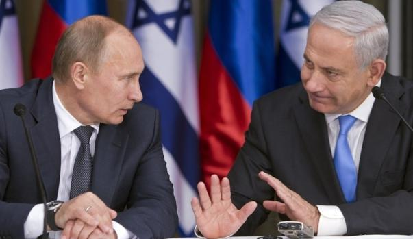 Putin spoke with Neyanyahu