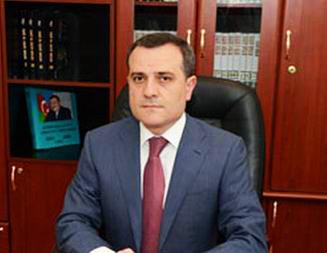 Ceyhun Bayramov XİN başçısı kimi ilk çıxışını etdi
