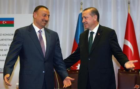 Ильхам Алиев поздравил Эрдогана