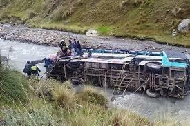24 dead, 19 wounded in Ecuador bus crash
