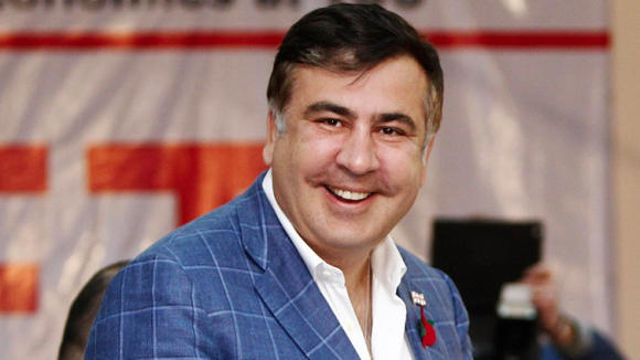 Saakashvili back to home