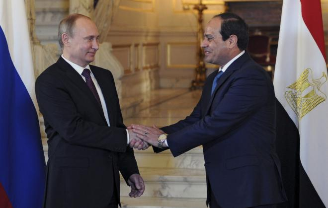 Russian, Egyptian presidents to meet in Sochi in October