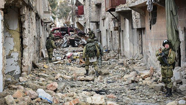 Suriya ordusu terrorçuları mühasirəyə aldı - Xan Şeyxunda