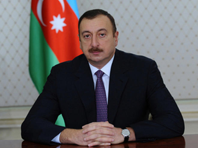 Ilham Aliyev has signed an order