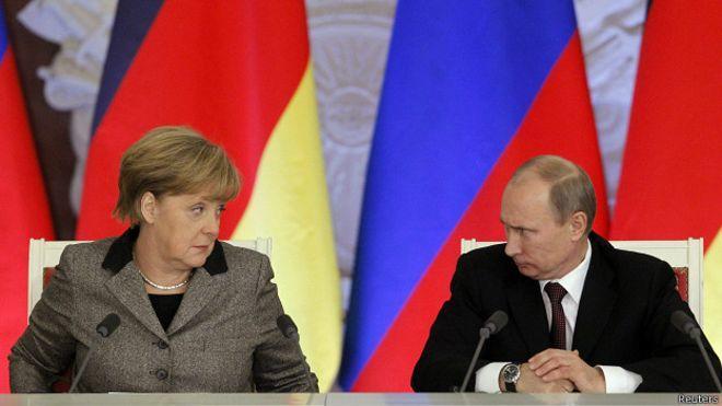 Kremlin reveals Putin-Merkel talks agenda