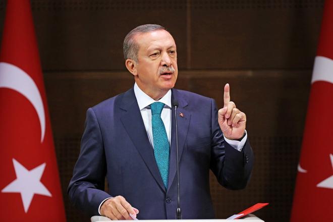 اردوغان قالماقاللی دئربیدن دانیشدی: فوتبول ترورو...
