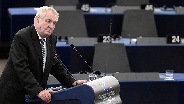 Чешский президент раскритиковал идею Трампа