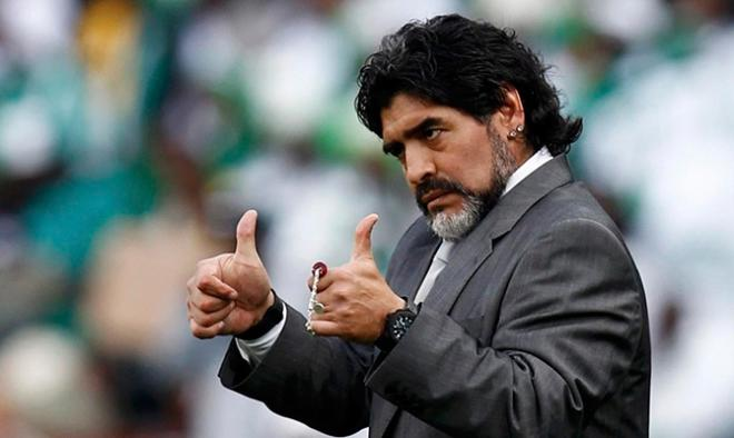 Argentine lawmakers seek to name a street after Maradona