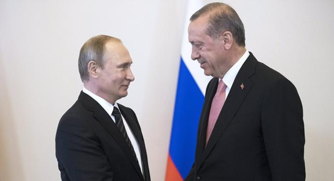 Putin called Erdogan