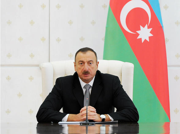 Ilham Aliyev expresses condolences to Queen Elizabeth II