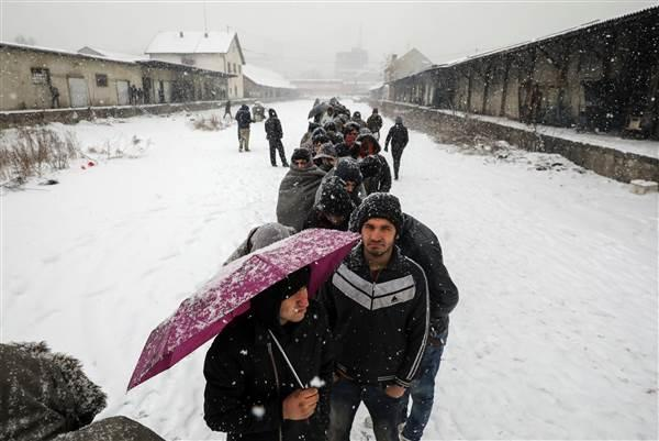 Refugees struggle to survive at EU borders in winter