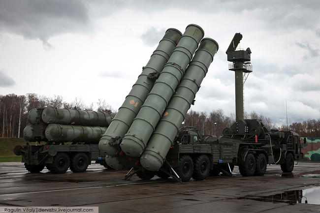 Delivery of S-400 battery parts to Turkey completed