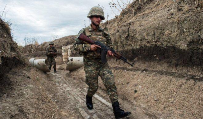قاراباغدا ارمنی حربچیسی آغیر یارالاندی
