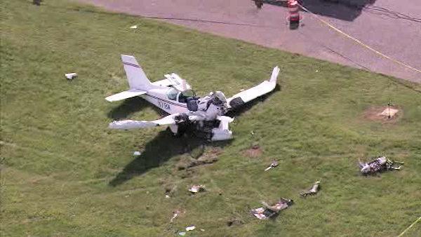 Два самолета столкнулись в Новой Зеландии