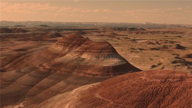 Marsdakı burulğanların şəkilləri yayımlandı - Foto