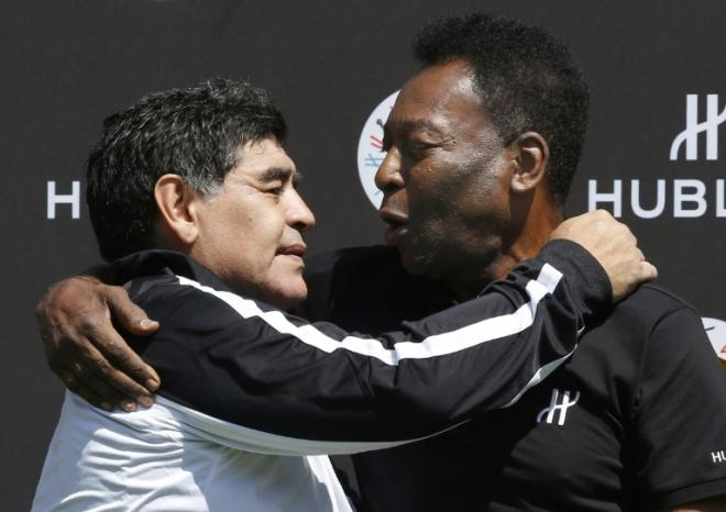 Pele Maradonanın ölümündən danışdı