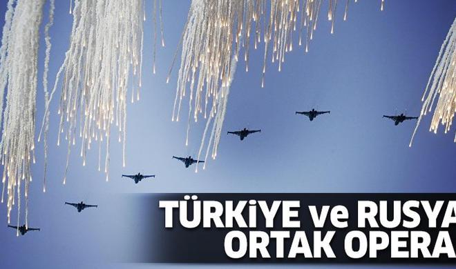 Rusiya və Türkiyə qırıcıları ilk dəfə: 36 hədəf məhv edildi