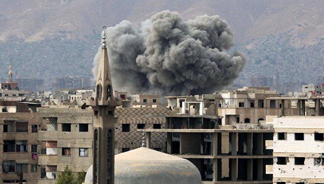 В Дамаске прогремел взрыв