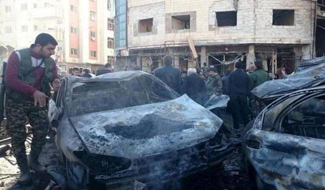 Suriyada partlayış: General öldürüldü