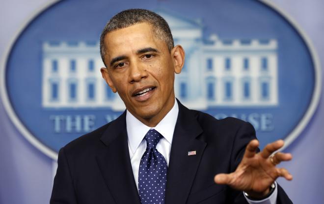اوباما: بشریته هوجوم ائدیلدی
