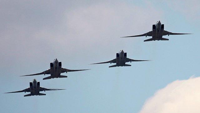 Шесть Ту-22М3 ударили по террористам в Дейр-эз-Зоре