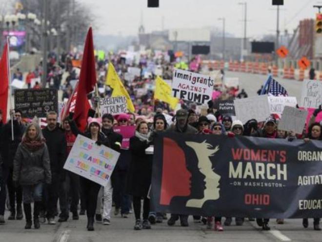 Женщины против Трампа - Марш