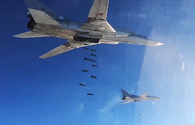 Russian bombers hit terrorists' targets in Syria