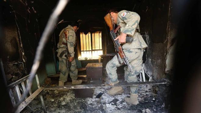 Талибы атаковали полицейский участок: 43 убитых