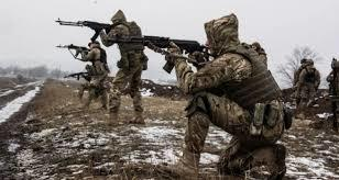 A Georgian soldier was killed in the Donbas