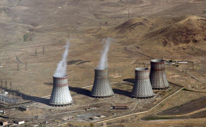 В Армении приостановили работу АЭС