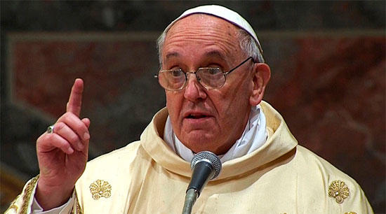 Pope warned: New Noah floods...