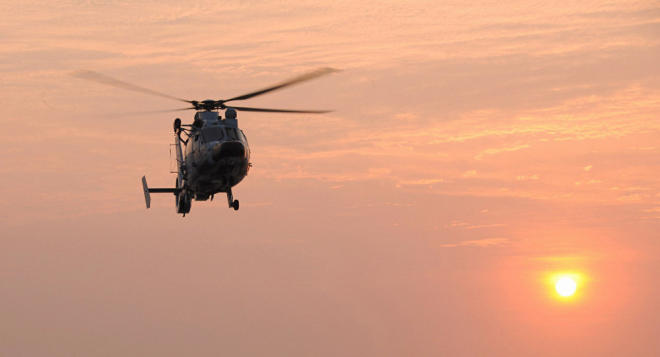 Helicopter crashes off Greek Island of Poros, 3 people dead